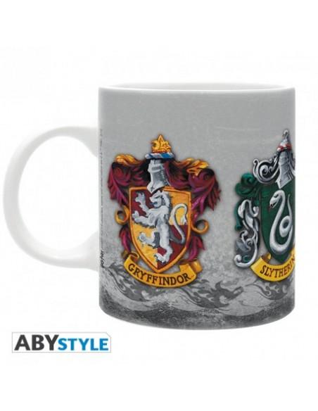 Taza escudos Casas Hogwarts - Harry Potter