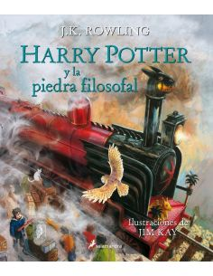 Libro Harry Potter y la piedra Filosofal Ilustrado - Harry Potter