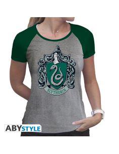 Camiseta Slytherin Femenina - Harry Potter
