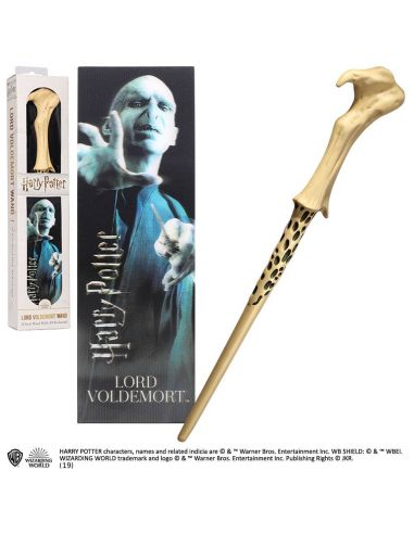 Varita Lord Voldemort plástico - Harry Potter