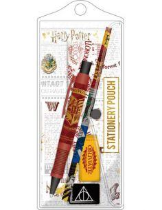 Pack estuche 5 piezas Hogwarts - Harry Potter