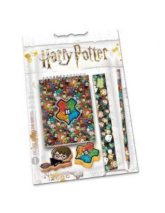 Set papelería Harry Potter B