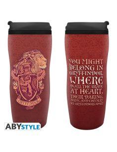 cfa05e90ec Taza de viaje Escudo Gryffindor- Harry Potter
