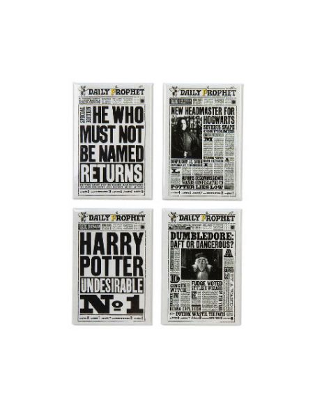 Pack de imanes The Daily Prophet - Harry Potter