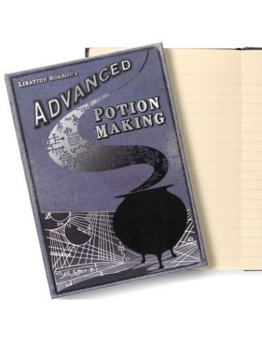 Diario Elaboración de Pociones avanzadas - Harry Potter