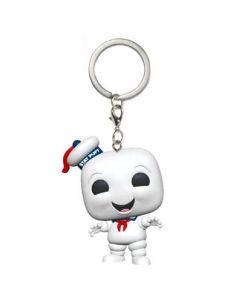 Llavero Pocket POP Mr. Marshmallow - Ghostbusters