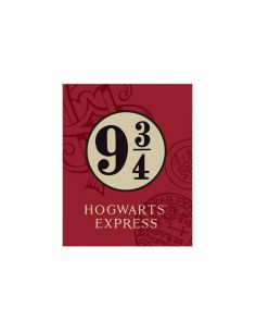 Manta polar Plataforma 9 y 3/4 - Harry Potter