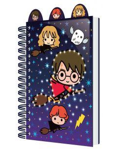 Libreta con luz A5 Chibi Characters - Harry Potter