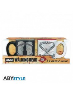 Pack 2 tazas expresso Daryl & Negan - The Walking Dead