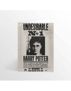 Tarjeta lenticular Indeseable Nª1 - Harry Potter