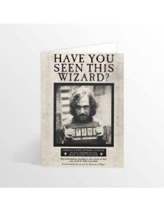 Tarjeta lenticular Sirius Black - Harry Potter
