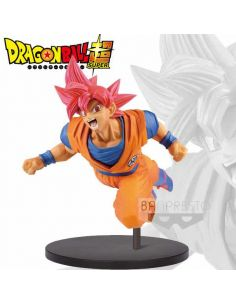 Figura Son Goku Super Saiyan God Fes - Dragon Ball