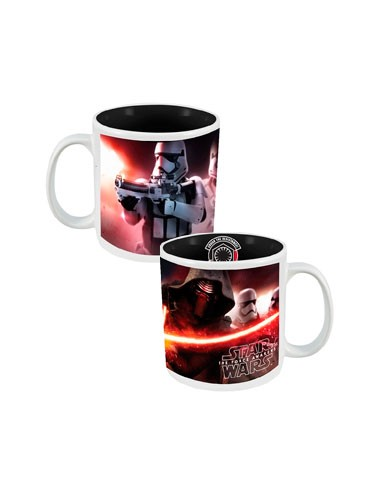 Taza Kylo Ren y Trooper - Star Wars
