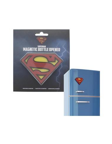 Abrebotellas imán logo 3D - Superman