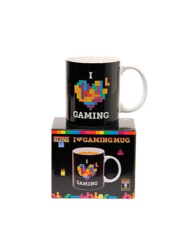Taza I love Gaming - Tetris