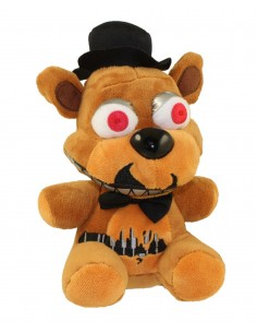 Peluche Freddy 15 cm Versión Nightmare - Five Nights at Freddy's