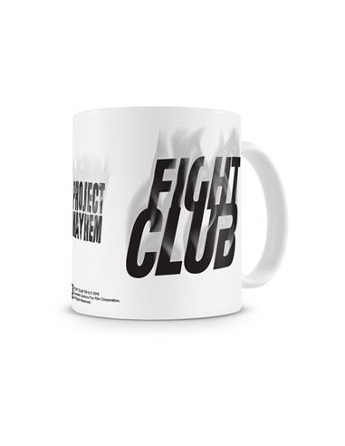 Taza Project Mayhem - Fight Club - El Club de la Lucha