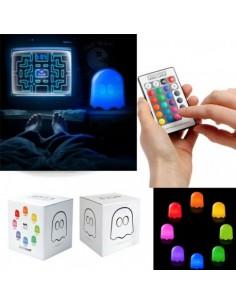 Lámpara fantasma control remoto - Pac-Man