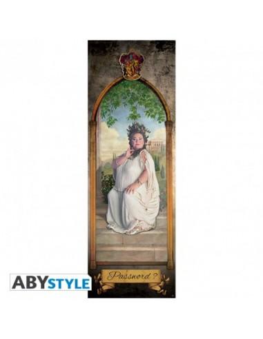 Póster puerta Señora Gorda - Harry Potter