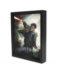 Cuadro Harry Potter batalla Hogwarts - Lenticular - Harry Potter