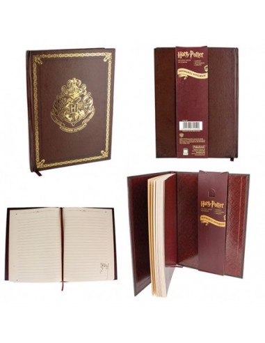 Libreta clásica Hogwarts - Harry Potter