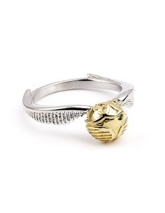 Anillo metálico Snitch Dorada - Harry Potter