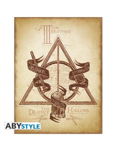 Lienzo de Las Reliquias de la Muerte - Harry Potter