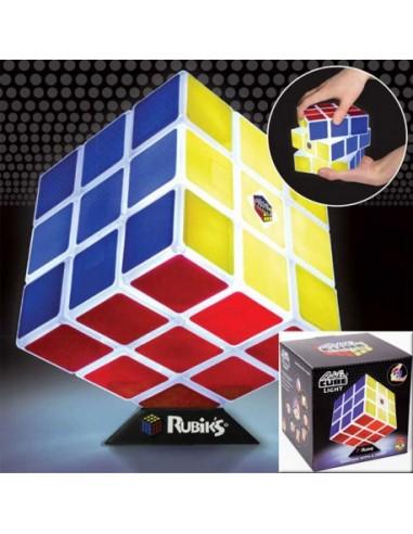 Lámpara Cubo de Rubik