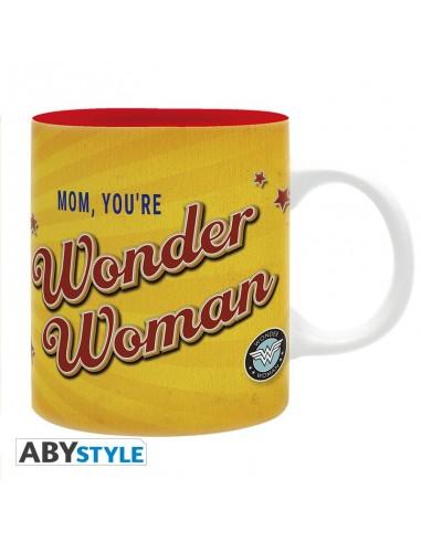 Taza Mama eres Wonder Woman - DC Comics