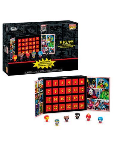 Calendario de adviento Marvel - Pocket POP! - Marvel