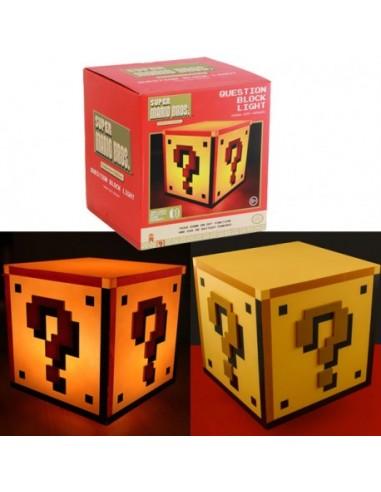Lámpara bloque - Mario Bros