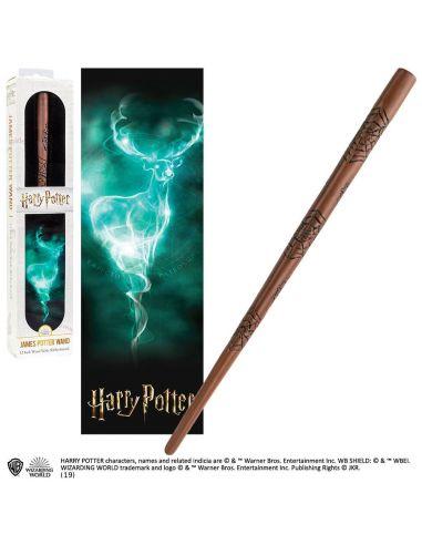 Varita James Potter PVC - Harry Potter