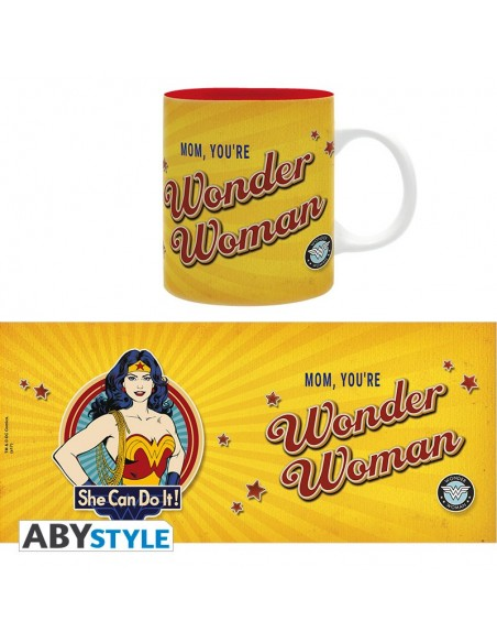 Taza Mama eres Wonder Woman - DC Comics